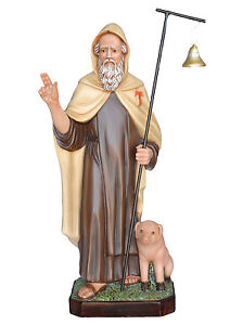 Saint-Anthony-the-Abbot-resin-statue-cm-80-with-glass-eyes