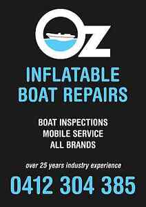 INFLATABLE BOAT REPAIRS ( SYDNEY MOBILE ) Glendenning Blacktown Area Preview