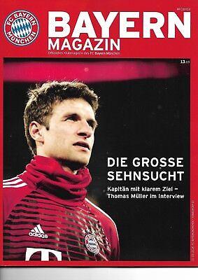 Bayern Magazin vom 10.03.2018 Offizielles Klubmagazin  FCB - Hamburger SV