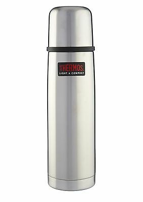 Thermos Light, Compact & Small Stainless Steel Vacuum Flask 0.5L - 184093 ()