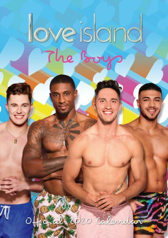 Love+Island+Boys+2020+Official+A3+Wall+Calendar