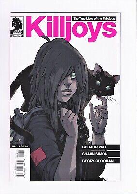KILLJOYS #1  true life of the Fabulous Killjoys 1st Print 2013 Dark (The True Life Of The Fabulous Killjoys)