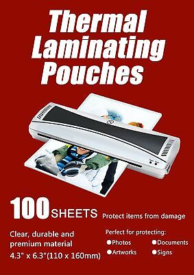 Halcent 4x6 Thermal Laminating Pouches 3 Mil Thermal Laminator Pouches She...