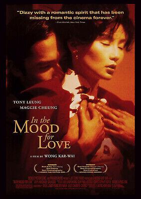 IN THE MOOD FOR LOVE 2000 - Kar-Wai Wong – Movie Cinema Poster Film Art Print