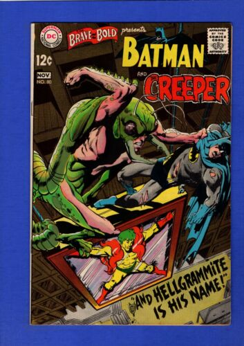 BRAVE AND THE BOLD #80 VF HIGH GRADE SILVER AGE DC NEAL ADAMS