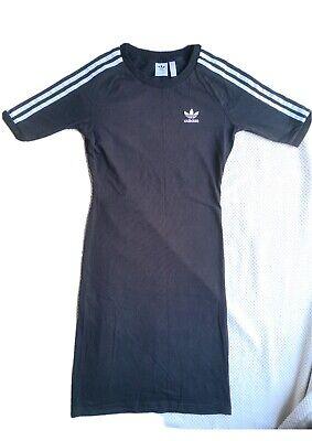 Adidas Black Midi Dress