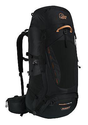 Lowe Alpine Manaslu 65:75 Trekking Rucksack Black FBP-8… |