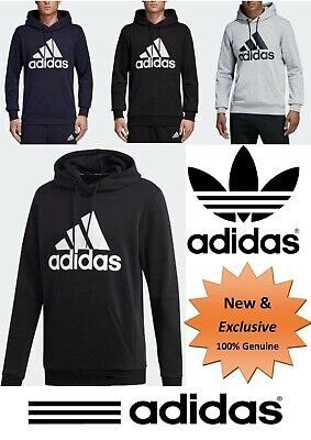 Adidas Men Lifestyle MUST HAVES BADGE OF SPORT HOODIE **(Hooded Sweatshirt)**