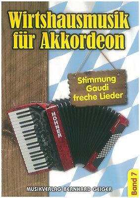 Wirtshausmusik für Akkordeon Band 7 - Noten - Akkordeon - SB 80