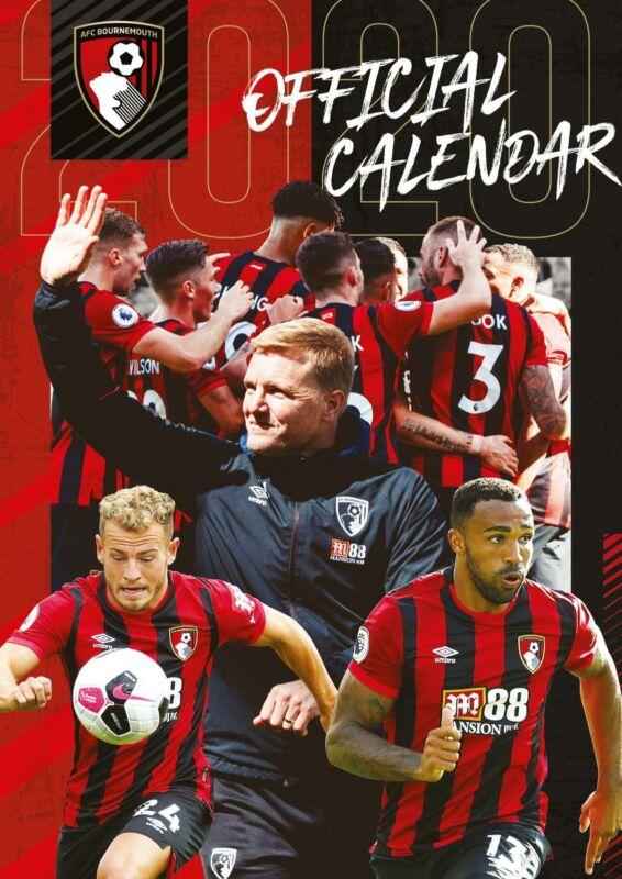 Bournemouth+FC+2020+Official+A3+Wall+Calendar