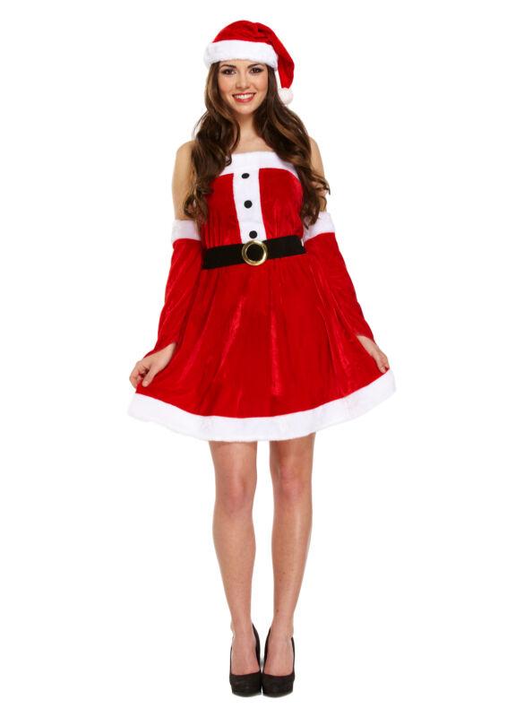 Sexy+Santa+Female+Santa+Clause+Fancy+Dress+Costume