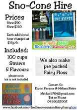 Dmdk Fairy Floss and SnowCone HIRE Burrangong Young Area Preview