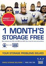 First Month's Storage Free!!! Belconnen Belconnen Area Preview