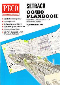 Peco Stp 00 00 H0 Gauge Peco Setrack Track Plan Book
