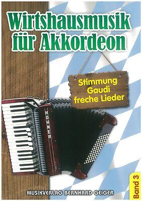 Wirtshausmusik für Akkordeon Band 3 - Noten - Akkordeon - SB 69