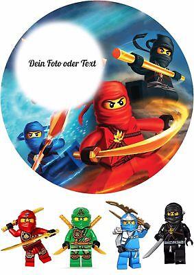 fleger --Ninjago---Tortenbild--Fondant //Oblate (Ninjago Torte)
