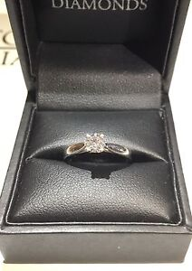Engagement Ring - Diamond & White Gold Coogee Eastern Suburbs Preview