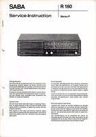 Servicio Manual De Instrucciones Para Saba Donau P -  - ebay.es
