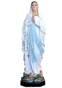 Our-Lady-of-Lourdes-resin-statue-cm-107-with-glass-eyes