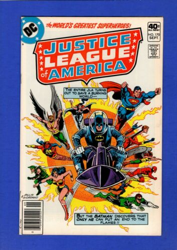 JUSTICE LEAGUE OF AMERICA #170 NM 9.4 HIGH BRONZE AGE DC