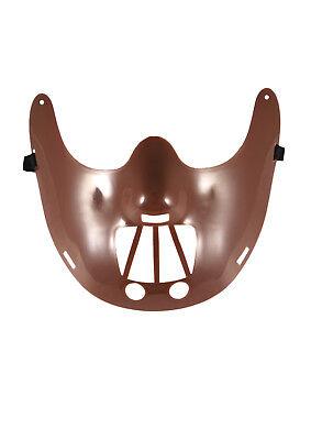 Y DRESS SCARY PLASTIC FACE MASK HANNIBAL LECTER GOALIE PARTY (Hannibal Lecter Maske Halloween)