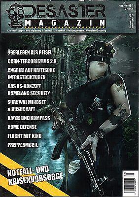 K-ISOM-DESASTER-MAGAZIN-02/17 - Notfallvorsorge Überleben Prepper Survival NEU