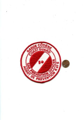 CANADIAN COAST GUARD  sar prevention officer patch