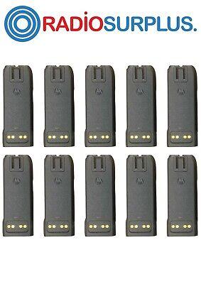10x Motorola Oem Impres Nntn6034 Batteries For Xts4250 Xts3000 Xts5000