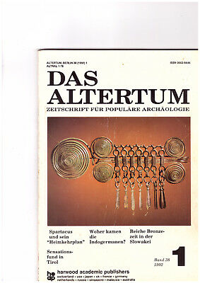 Das Altertum Band 38 Heft 1/1992