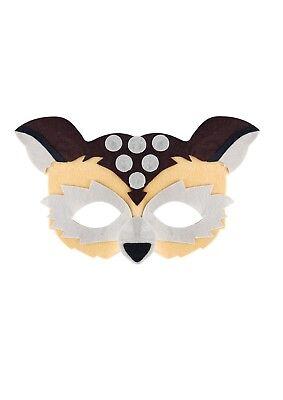 OWL FACE EYE MASK  JUNGLE  ZOO - Owl Mask