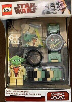 LEGO Star Wars Clone Wars 9002069 Yoda Watch And Mini Figure