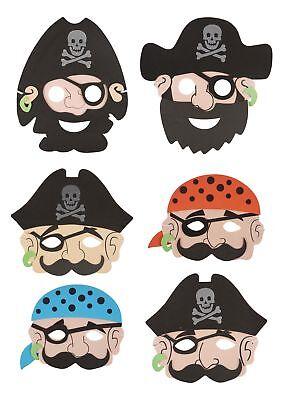 Kinder Freundlich Kostüme (Kinder Freundlich Piraten Matrose Weichschaum Maske Kostüm Verkleidung Party Big)