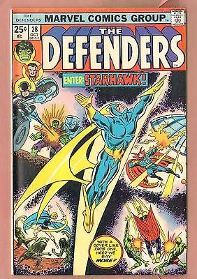 1ST full app STARHAWK DEFENDERS #28 Guardians of the Galaxy MOVIE 1975