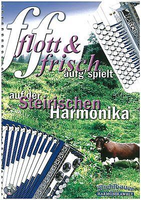 Michlbauer - flott & frisch aufg´spielt - für Steirische Harmonika + CD