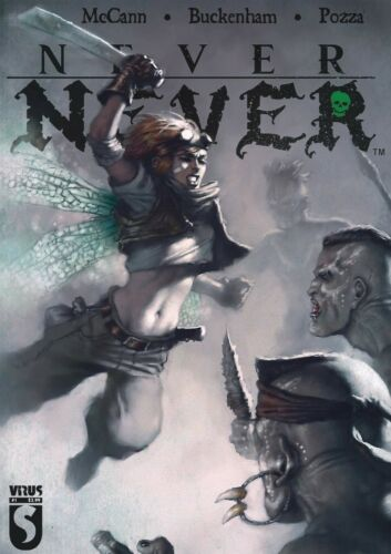 Never Never #4 Petros peter pan Lost Boys Heavy Metal Comic 1st Print 2021 NM