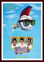 Major League Iconic & Cool Movie Poster Vintage & Classic Films -  - ebay.co.uk