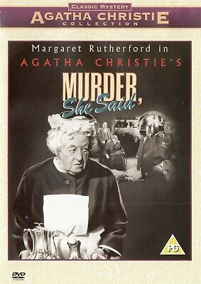 Agatha Christie's Murder She Said Miss Marple - NEW Region 2 DVD