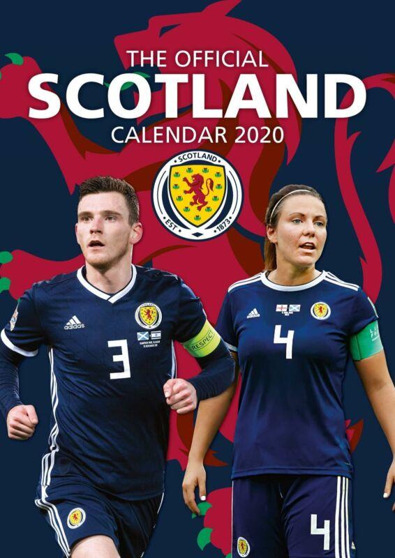 Scotland+2020+Official+A3+Wall+Calendar+Football+Mens+Womens