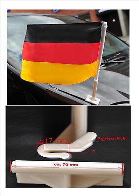 Deutschland Motorhauben fahne Autoflagge Autofahne WM 2018 Fanartikel