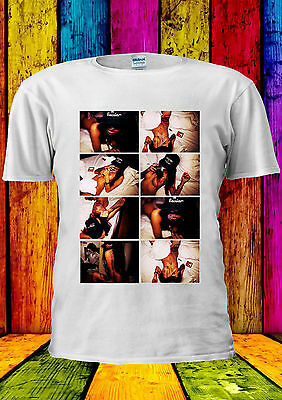 Weed Girl Smoking With Hat Sexy T-shirt Vest Tank Top Men Women Unisex 2217