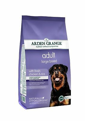 Arden Grange Chicken & Rice Large Breed Adult Dog Food 2kg
