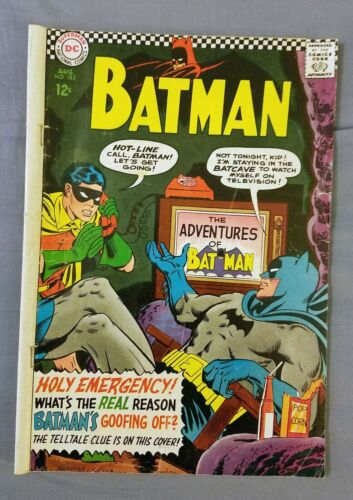 BATMAN #183, DC COMICS, SILVER AGE, 1966