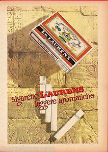 Pubblicita-Advertising-1957-Sigarette-LAURENS