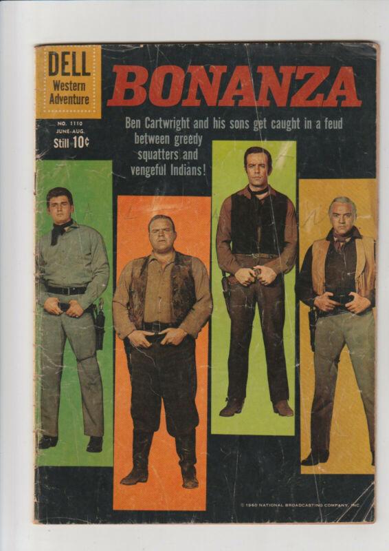 Bonanza #1110 (#1) G Dell comic 1960