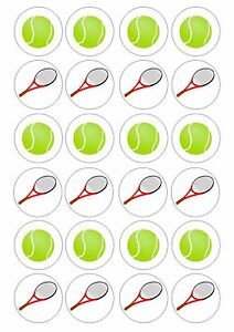 Tennis Ball Cake Toppers