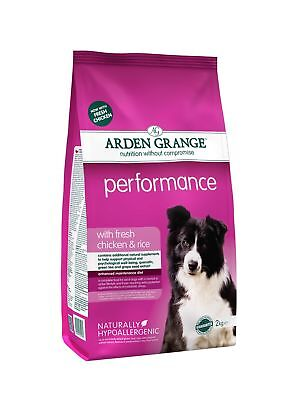Arden Grange Chicken & Rice Performance Dog Food 2kg