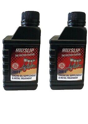 Molyslip Molyslip 2001E (Engine Oil Supplement) x 2 Bottles / RDGTools