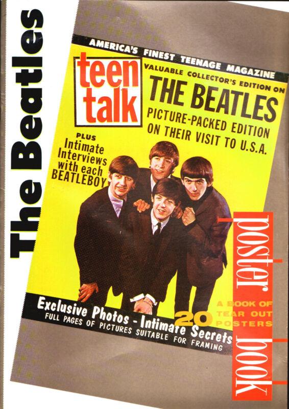 The Beatles Tear Out Poster Book  Kay Rowley 1989 Atalanta Press Oversized  O