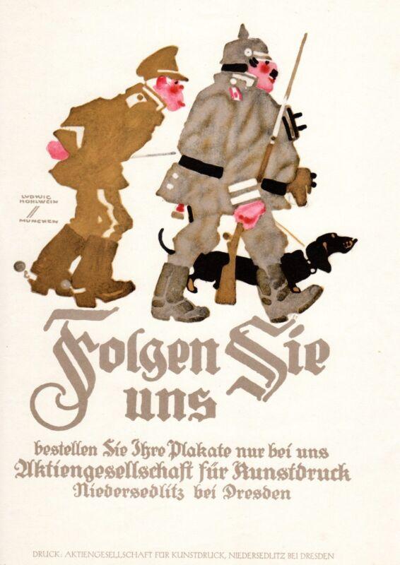 ADVERTISEMENT PRINTING AKTIENGESELLSCHAFT FUR KUNSTDRUCK HOHLWEIN 1926