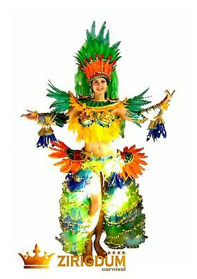 Carnival Costume, can can costume, circus costumes, halloween costumes for women (Brazilian Costumes Halloween)